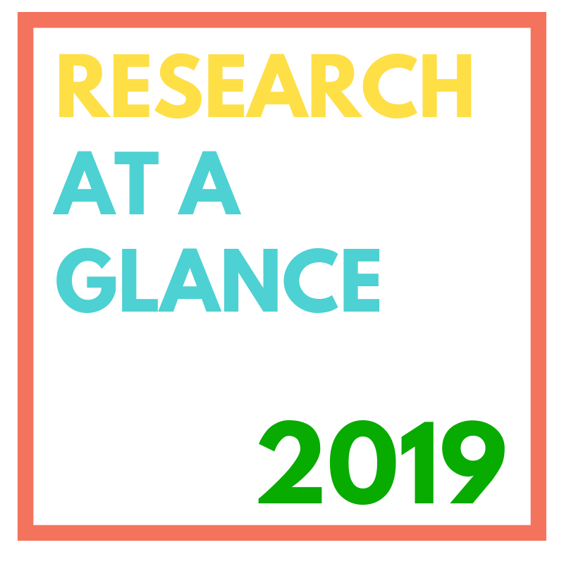 Research at a glance 2019