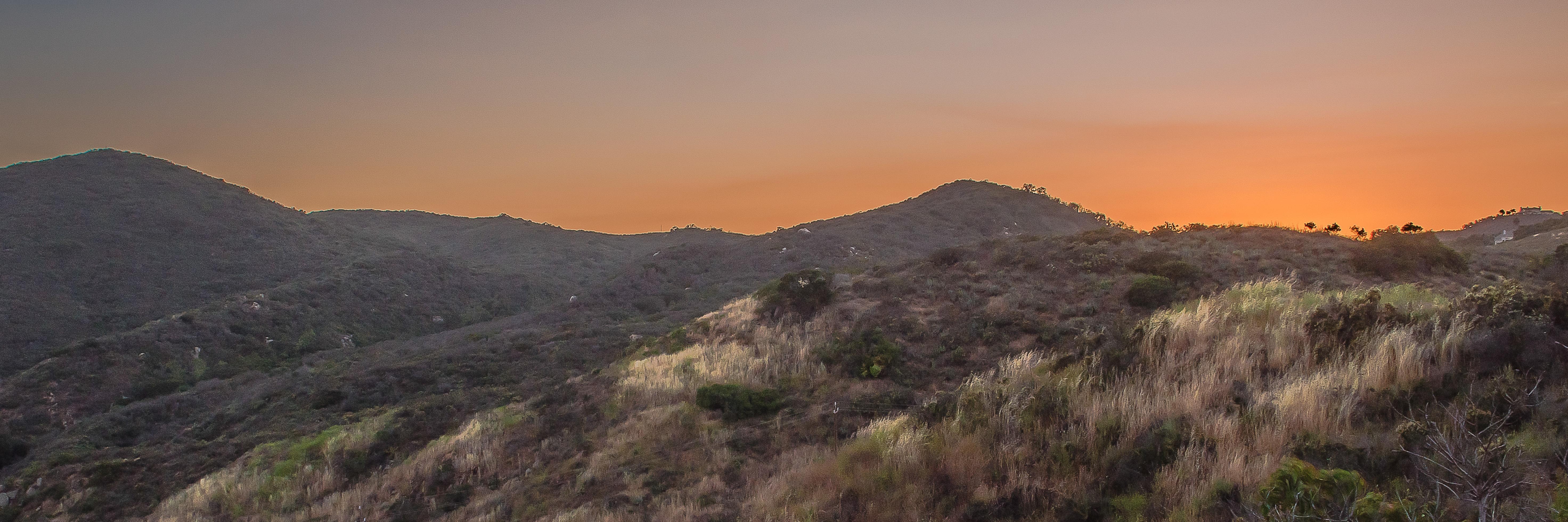 Southern California landscape.