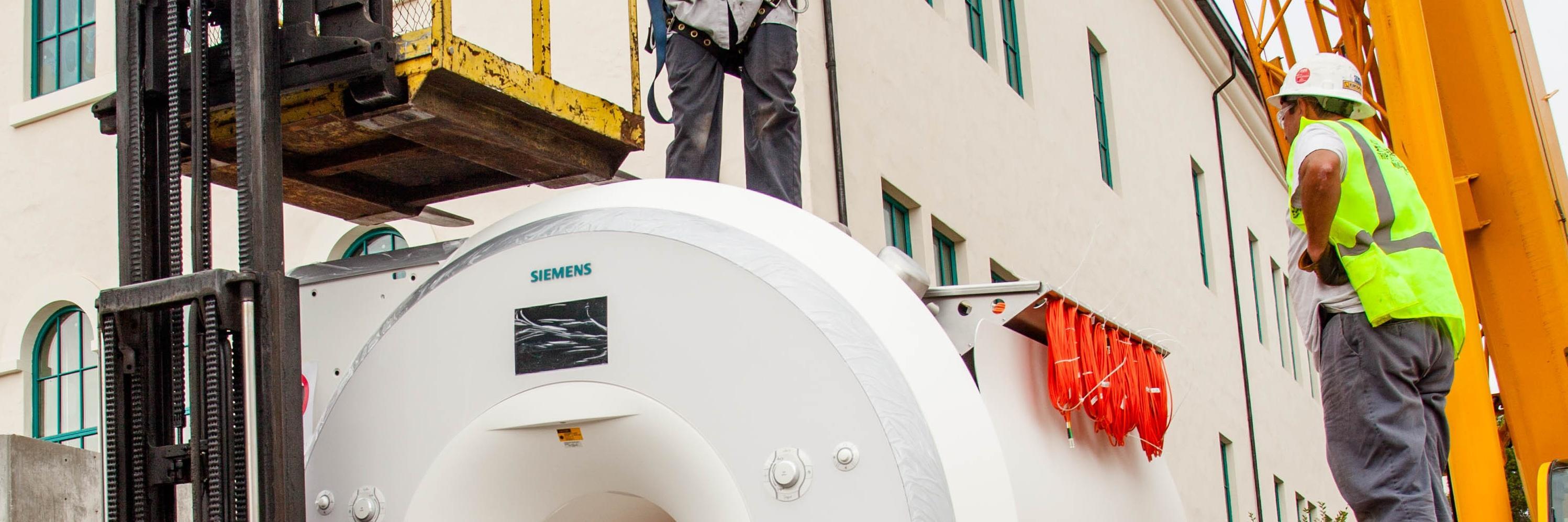 MRI machine.