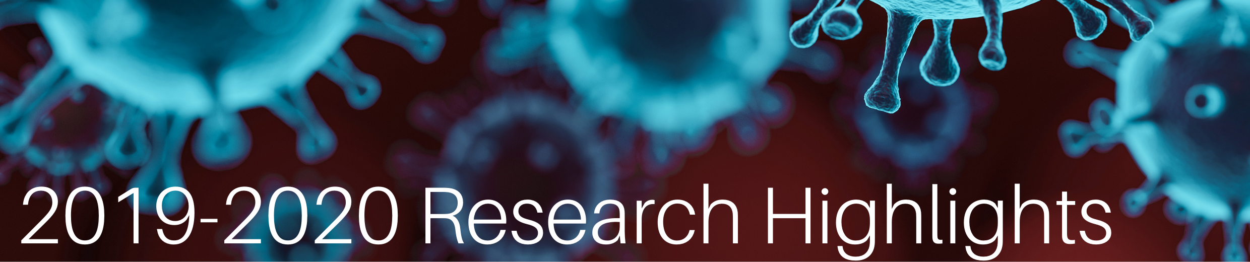2019-2020 Research Highlights